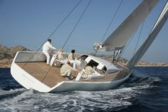 John Pawson | almost nothing vessel with Italian yacht designers Luca Brenta and German builders in Kiel