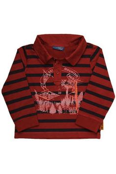Boys long-sleeved striped fashion golfer with a placement print and contrast embroidery detail. From Naartjie Kids SA. Holiday 2014, Holiday Dresses, Kids Fashion, Contrast, Girl Outfits, Dress Up, Range, Comfy, Embroidery
