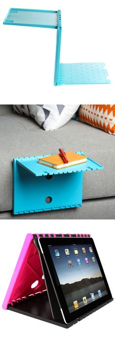 Multi-purpose shelf - Use as a side table or stand for a tablet