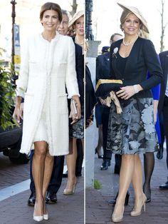 Máxima de Holanda y Juliana Awada, duelo de estilos