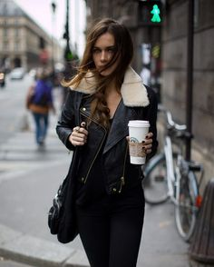 pretty much my 24-7 look (minus face, starbucks coffee)
