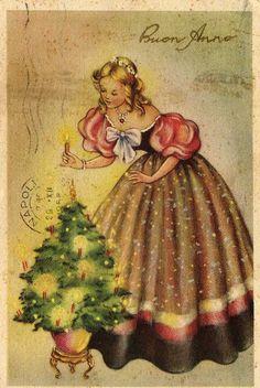 Vintage Christmas Card (Miss Jane: Christmas Cards 1)