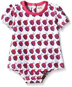 Hatley Girls Lady Bug GardenOne Piece Dress White 1218 Months * Click image to review more details.Note:It is affiliate link to Amazon.