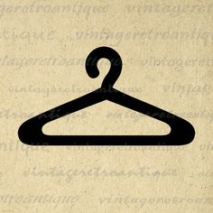 Printable Clothes Hanger Image Download Clothing Icon Digital