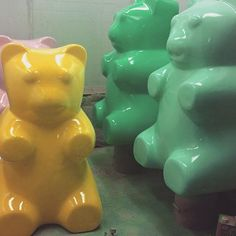 The gang gets ready for #nationaldessertday #yummy  #gummybears #gummybear #sweets #candyshop #candy #dessert #sweettooth  Yummery - best recipes. Follow Us! #nationaldessertday