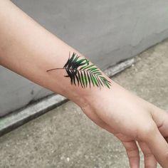 Green Leaf Tattoo More