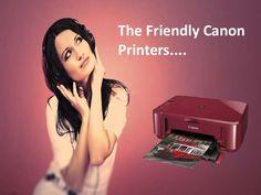 The Friendly Canon Printer....http://goo.gl/5nyAfd...