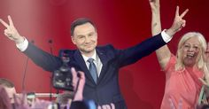 Youthful energy and rhetoric for change have seen Andrzej Duda transformed from a virtual unknown to the rising star of Eastern European politics – but his presidency could set Poland against Russia and the EU. Presidential Polls, New President, Kili, New Politics, Poland, Presidents, Concert, News, Baby Born