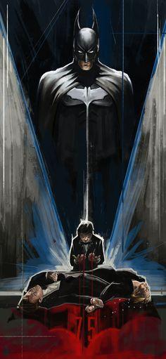 -- Comic Art -- Batman