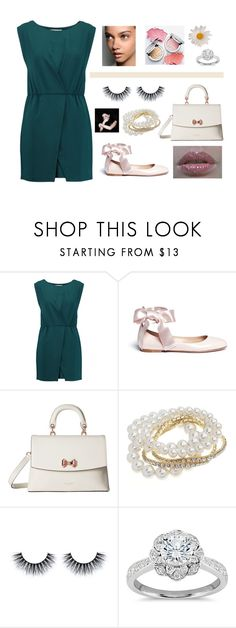 """""""Glam and pretty"""" by faanciella on Polyvore featuring mode, Halston Heritage, Gianvito Rossi, Ted Baker, Miss Selfridge et Zac Posen"""