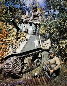 Loading Tank Ammunition
