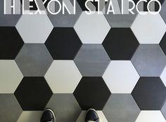 Płytka heksagonalna HEXON STARCO 25×28 MIX - gres betonopodobny - płytki betonopodobne - Kaflando