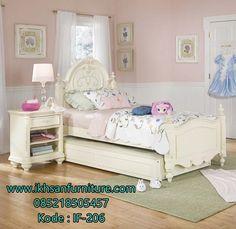 Desain Tempat Tidur Sorong Terbaru Minimalis Kids Bedroom Sets White
