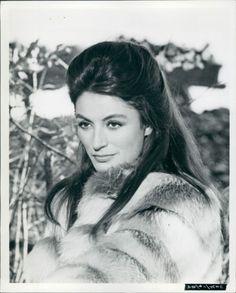 1972 Press Photo Of Actress Anouk Aimee