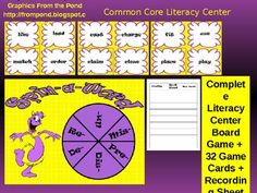 This is a literacy center created for students to practice making and discussing words that contain prefixes. This game includes the gameboard, 32 ...
