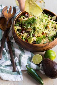 guacamole salad with