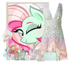 """""""pony"""" by frane-x ❤ liked on Polyvore featuring My Little Pony, Valentino, Essie, Sophia Webster, Oscar de la Renta and Jessica Carlyle"""