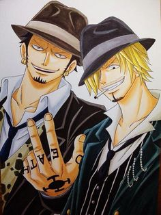 Trafalgar D Water Law Sanji Vinsmoke One Piece