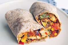Tortilla tekercs Fresh Rolls, Sweet Potato, Tacos, Potatoes, Mexican, Vegetables, Ethnic Recipes, Food, Red Peppers