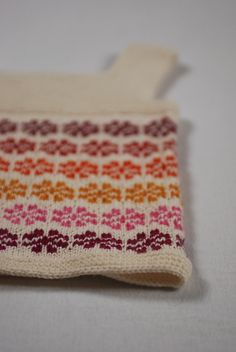 Adorable colourwork baby tunic