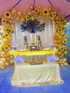 Gorgeous Spring Wedding Ideas to Get Inspired By – DIY Paper Sunflowers Sunflower Party Themes, Sunflower Birthday Parties, Sunflower Decorations, Birthday Decorations, Baby Shower Decorations, Baby Shower Themes, Wedding Decorations, 21 Party, 21st Party Themes