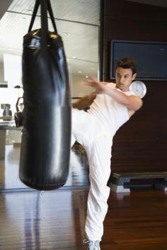 One of the primary benefits of working with the heavy bag is increased power.