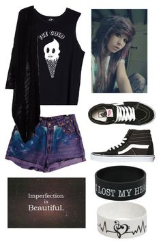 """""""Untitled #575"""" by yoitsmeg87 ❤ liked on Polyvore featuring Valfré and Vans"""