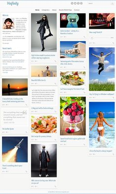 Pinfinity WordPress Theme is a pinterest style premium blog WP Theme from CSSIgniter
