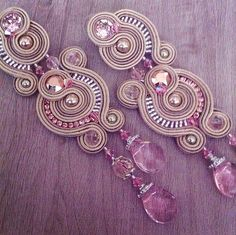 DIY soutache tutorial: Orecchini Aurora