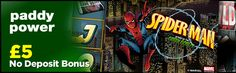 Get £5 completely free to play the Spider-Man Attack of the Green Goblin slot at Paddy Power Casino – this is Playtech's latest Marvel slot: http://www.casinomanual.co.uk/5-deposit-bonus-play-spider-man-attack-green-goblin-slot/