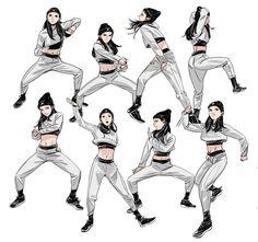 Manga Drawing Design