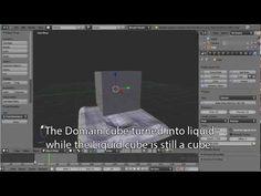 Blender 2.63 Fluid Simulation Tutorial - YouTube