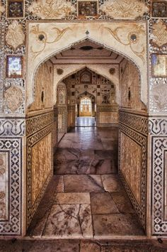 Amber Hindu Fort in Jaipur, India