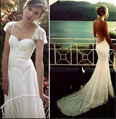 Simple Summer Beach Wedding Dresses