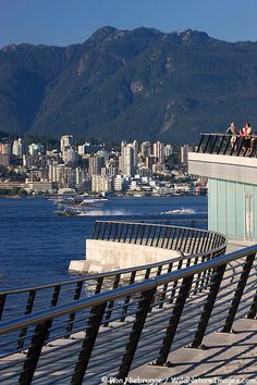 Coal Harbour - Vancouver - British Columbia - Canada - we were right there at the end of our Alaskan cruise