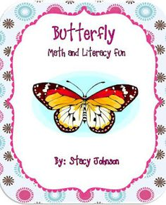 Butterfly Garden Fun: Math and Literacy activities for your classroom butterfly garden.
