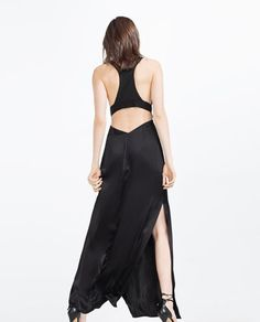 Image 4 of LONG CAMISOLE DRESS from Zara
