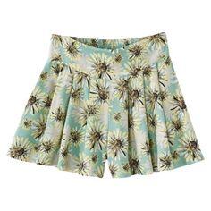 Xhilaration® Juniors Challis Shorts - Assorted Colors