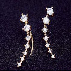 Dipper Hook Stud Earrings