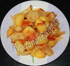 картошка с капустой в духовке