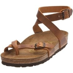 Birkenstock Yara Smooth Leather, Style-No. 13381, Women Thong Sandals, Antique Brown, Normal Width Birkenstock. $72.26