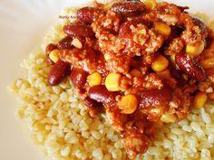 Marka boszikonyhája: Chili con carne, avagy csilis bab a férfinépnek Food, Chili Con Carne, Essen, Meals, Yemek, Eten
