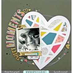 Designer @nicolenowosad is sharing this amazing LO using #december2015 kits  She used our exclusive cut files designed by @ashleyhorton75 and her layout is based on this month sketch . @studio_calico @sevenpaper @cratepaper @maggiehdesign #hipkits #hipkitclub #scrapbook #scrapbooklayout
