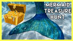 FIN FUN MERMAID Treasure Hunt Challenge - Yumi, Sachi, Kimi, and Kenzo dive for Mermaid treasure to see who can get the most. Pool Party Games, Fin Fun Mermaid, Kenzo, Challenges