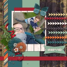 Energized - digital scrapbook layout  Credits:  Pure Energy Grab Bag by Mandy King  at Gingerscraps  Template by Miss Fish Templates    http://store.gingerscraps.net/Pure-Energy-Grab-Bag.html
