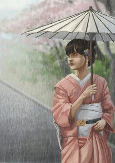 Aul in kimono