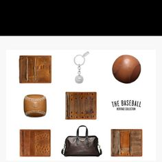 I would love to have one of these recycled baseball wallets from Coach. Gifts gladly accepted...ha! Japan.coach.com #fashion #accessories #baseball
