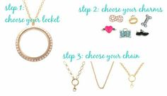 It's as easy as 1, 2, 3.  To have a browse or to order click on - www.lilyannedesigns.com.au/lisaslockets
