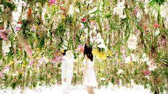 Floating Flower Garden – Exhibitions – MAISON&OBJET PARIS 2015 september #interiordesign #tradeshow visit us www.luxxu.net
