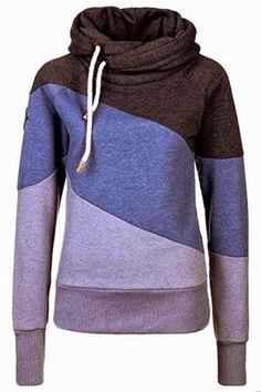 Love mine!  Very warm and cozy.  Order one size up. Lavender, purple, brown hoodie  #hoodie #sweater